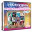 MUTI ARTISTE - L'Eurovision en Français : Les 100 plus belles chansons du concours 1956 - 2016 (Coffret 4 CD) - CD x 4