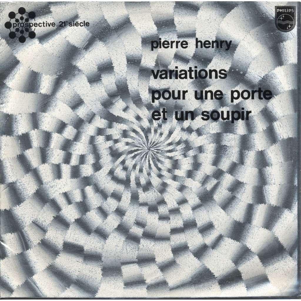 PIERRE HENRY Variations Pour Une Porte Et Un Soupir (cover = Héliophore & dos argent - silver back)