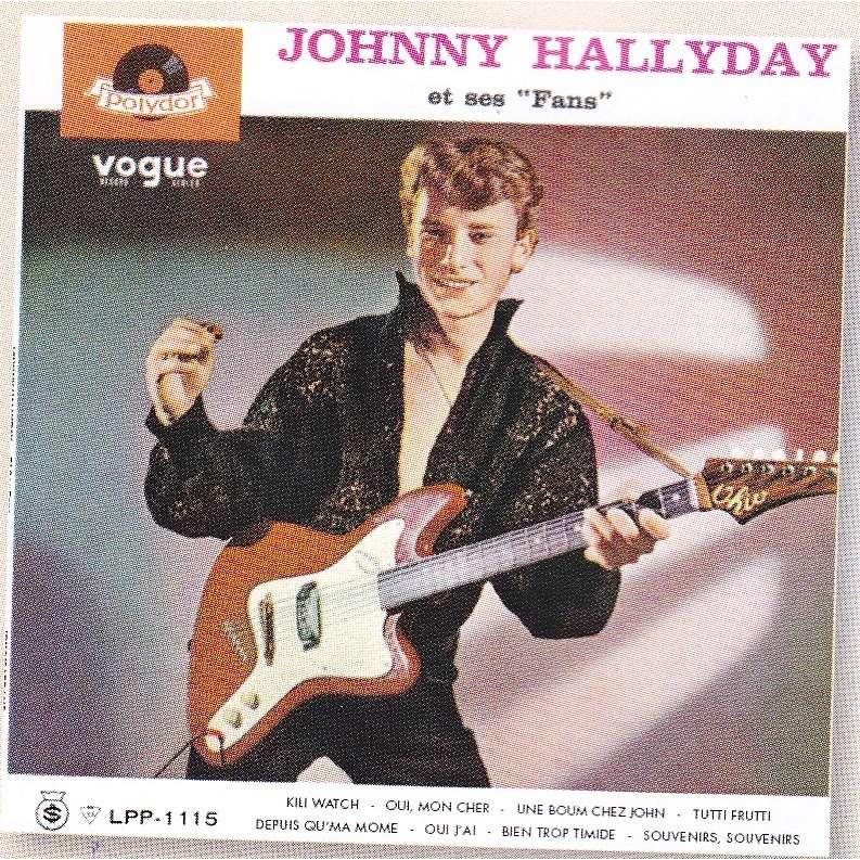 JOHNNY HALLYDAY ET SES FANS 33T - JUKEBOXMAG.COM