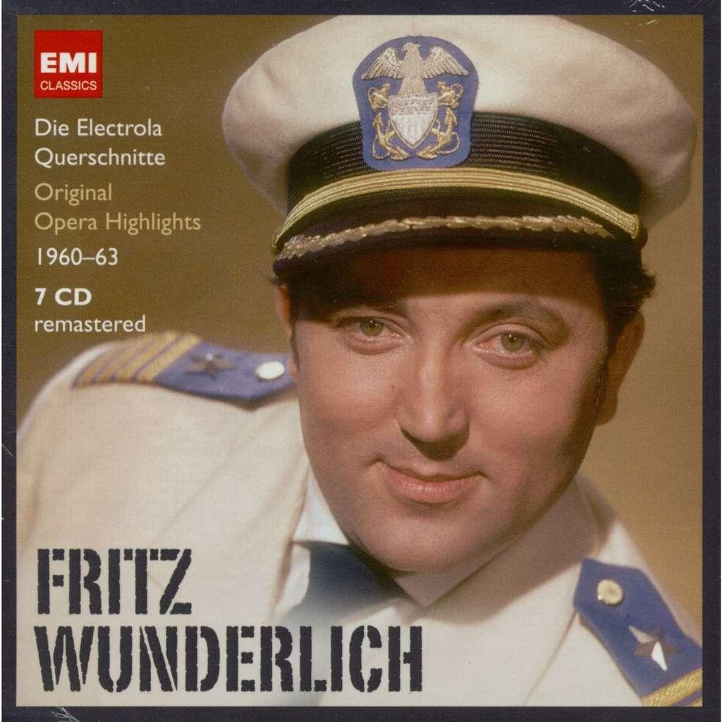 Puccini / Mozart / Thomas / Flotow / Lortzing Fritz Wunderlich - Opera Highlights 1960-1963: Lorengar, Wagner, Prey, Rothenberger, Cordes, Frick