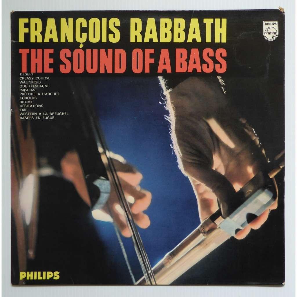 francois rabbath the Sound Of A Bass
