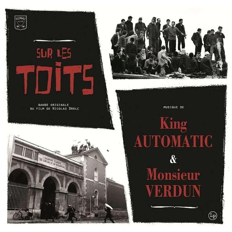 Kizmiaz rds : King Automatic & Monsieur Verdun sur les toits - 10 inch