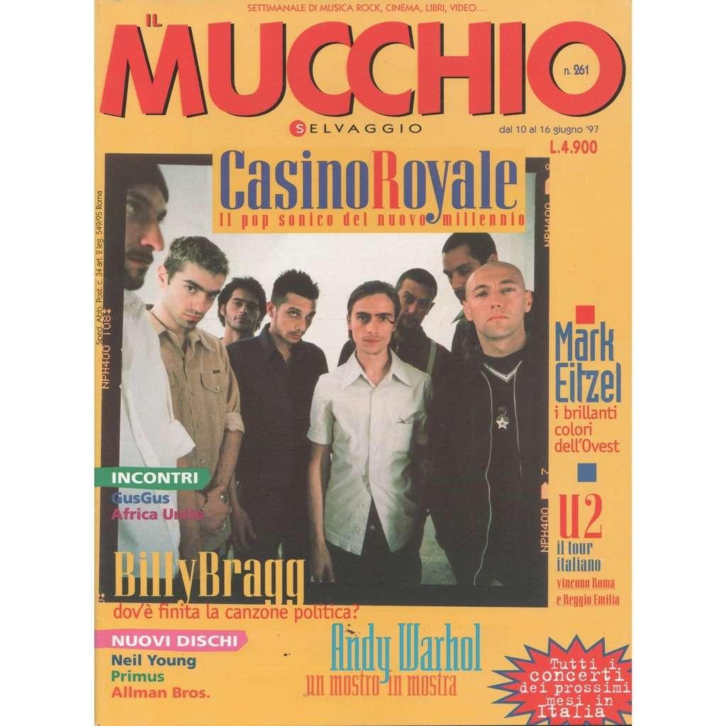 Casino Royale Mucchio Selvaggio (N.261 June 1997) (Italian 1997 Casino Royale front cover magazine!!)