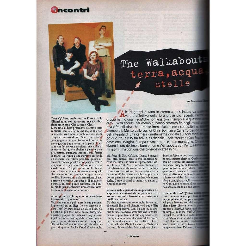 The Walkabouts Mucchio Selvaggio (N.364 20.09.1999) (Italian 1999 music magazine)