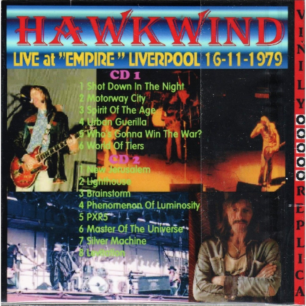 Hawkwind Live at 'Empire' (Liverpool 16.11.1979)