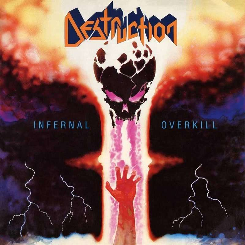 DESTRUCTION Infernal Overkill. Blue Vinyl