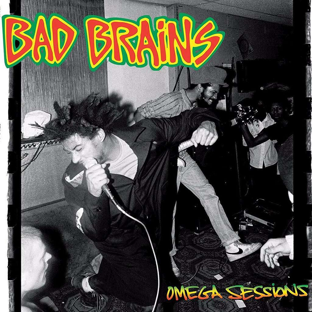 Bad Brains Omega Sessions New Factory Sealed Limited Edition WHITE Colored Vinyl LP