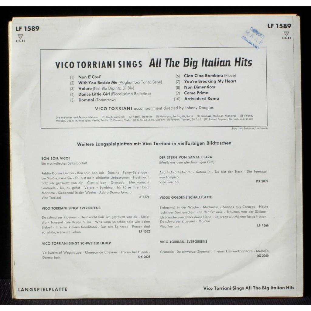 25 cm 10' Vico Torriani Johnny Douglas 25 cm 10' Vico Torriani Johnny Douglas Decca Germany LF 1589 LP NM-, CV EX+