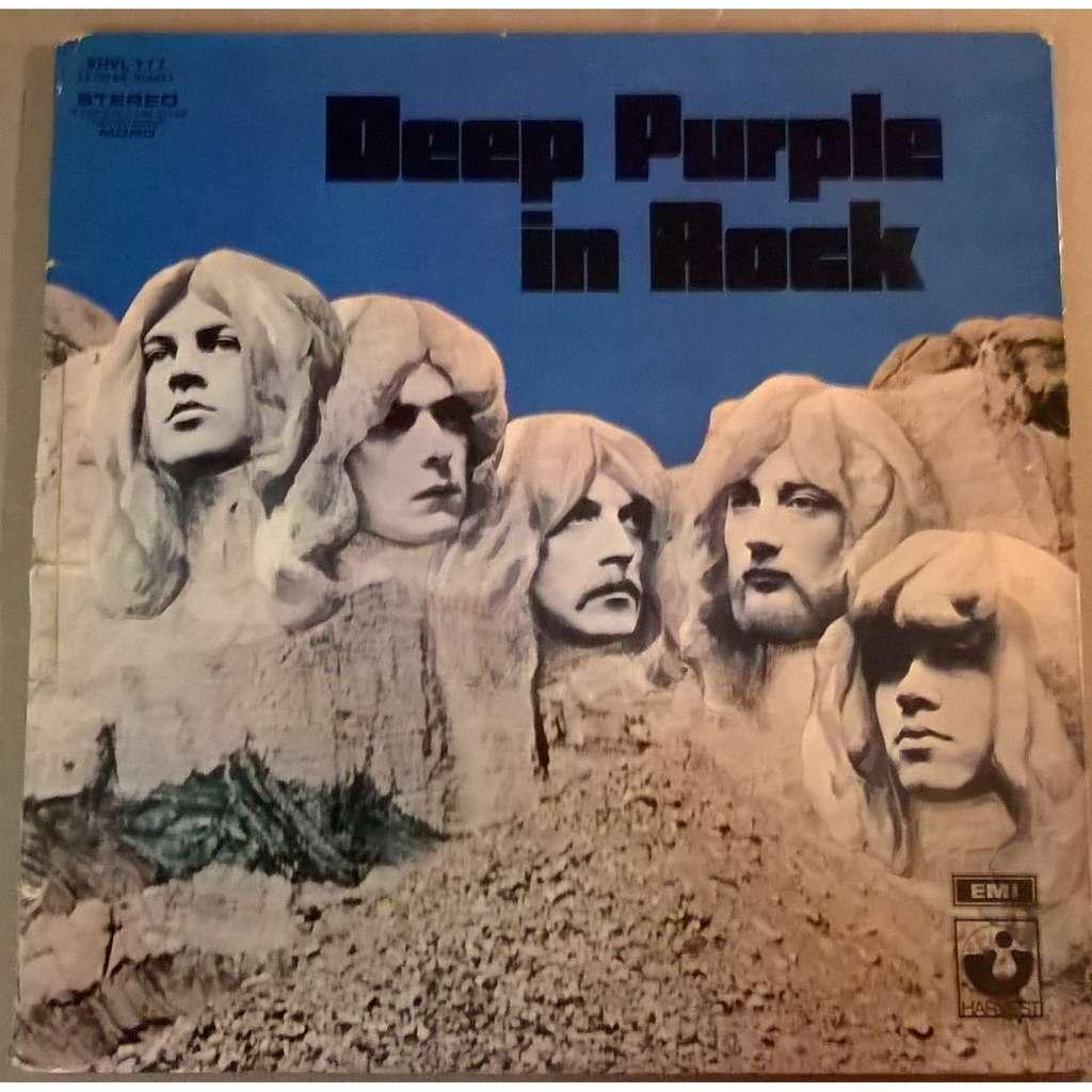 Deep Purple In Rock By Deep Purple Lp Gatefold With