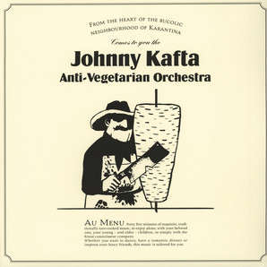 Discrepant : Johnny Kafta Anti-Vegetarian Orchestra Johnny Kafta Anti-Vegetarian Orchestra - LP