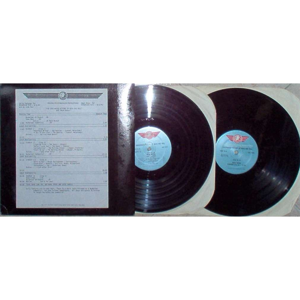 Beatles The Continuous History Of R&R Show #49 (USA 1982 promo 'Rolling Stone' 2LP Radio Show + cues!!)