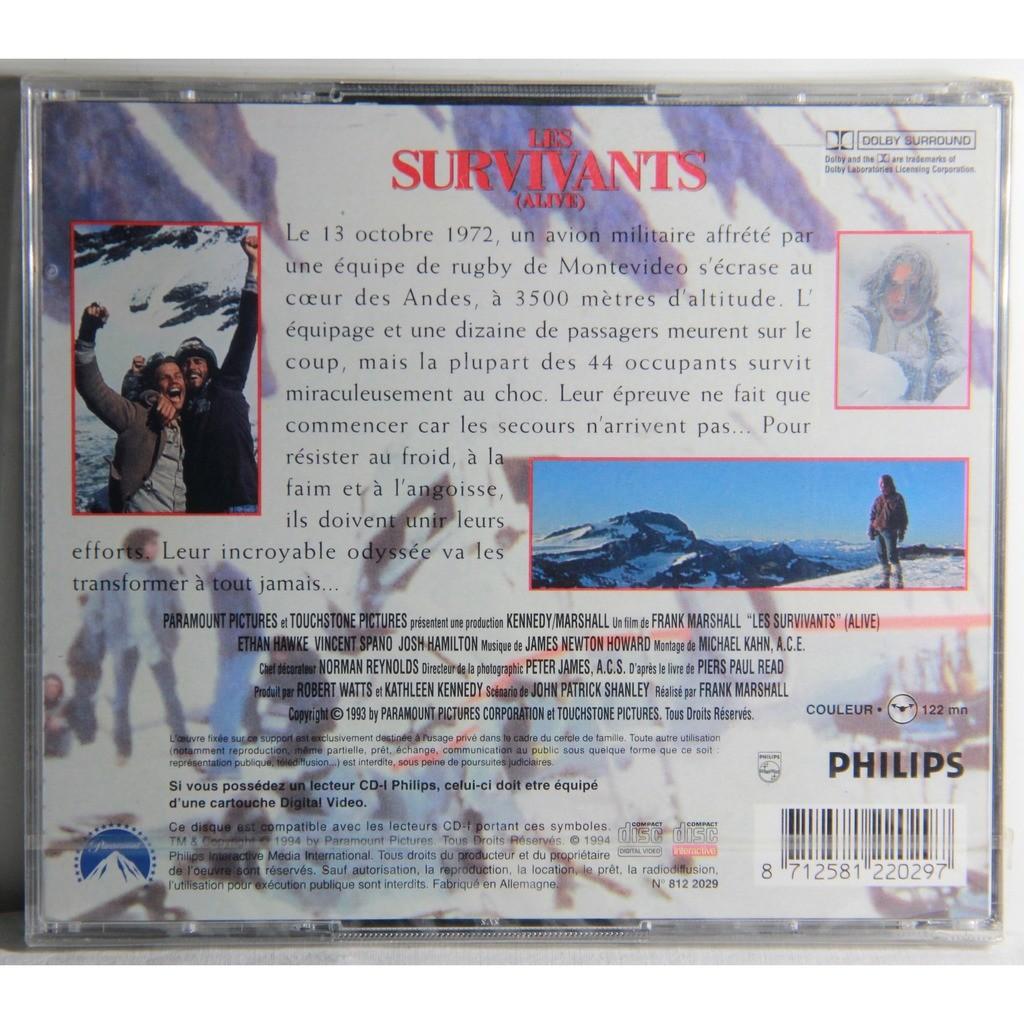 CD VIDEO - CDI - LES SURVIVANTS ALIVE