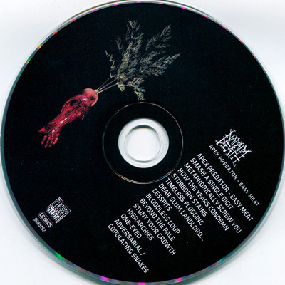 Apex Predator Easy Meat By Napalm Death Cd With