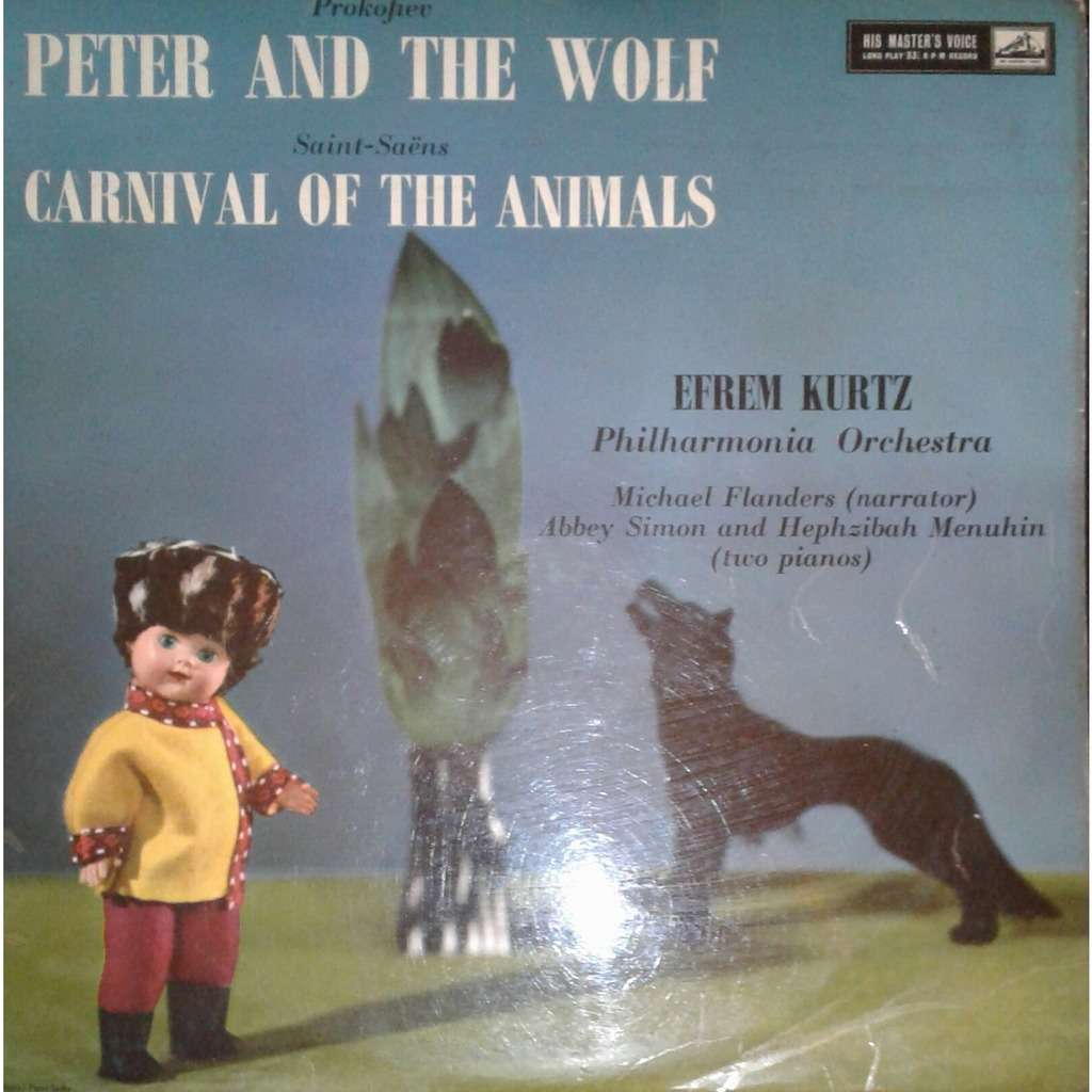 Efrem Kurtz / Philharmonia Orchestra Prokofiev: Peter and the Wolf / Saint-Saens: Carnival of the Animals
