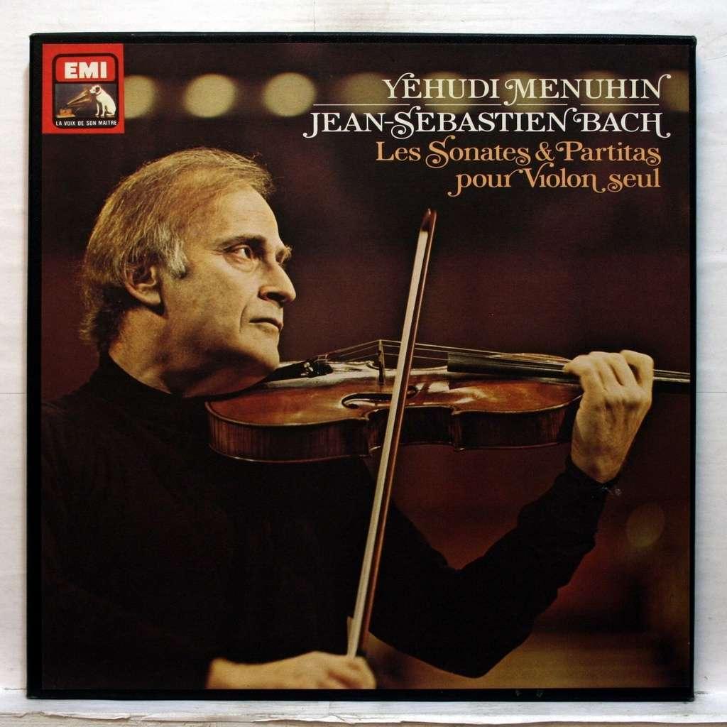 yehudi menuhin js bach : 6 sonatas & partitas for violin solo bwv 1001-1006