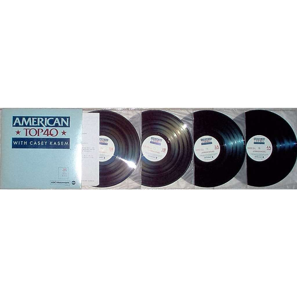 Michael Jackson american top 40 program No 874-9 (usa 1987 promo 'abc' 4lp  BROWN wax radio show ps + cues)