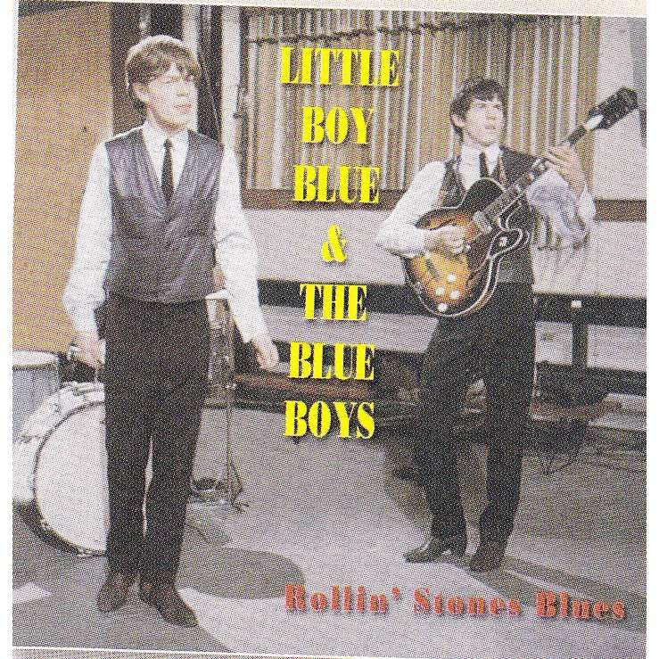 ROLLING STONES LITLLE BOY BLUE & THE BLUE BOYS 25 CM - JUKEBOXMAG.COM
