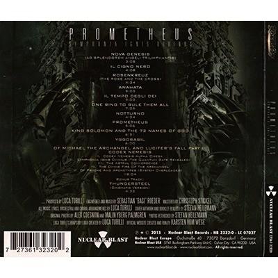 LUCA TURILLI'S RHAPSODY Prometheus - Symphonia Ignis Divinus