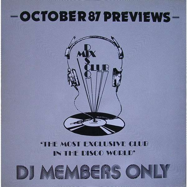 V./A. PREVIEWS - OCTOBER 87