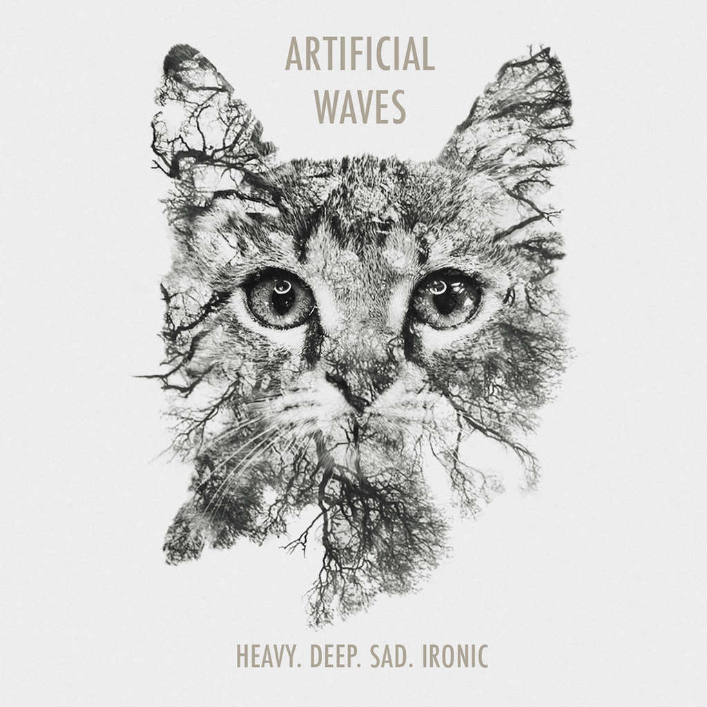 Fluttery Records : Artificial Waves Heavy. Deep. Sad. Ironic - CD