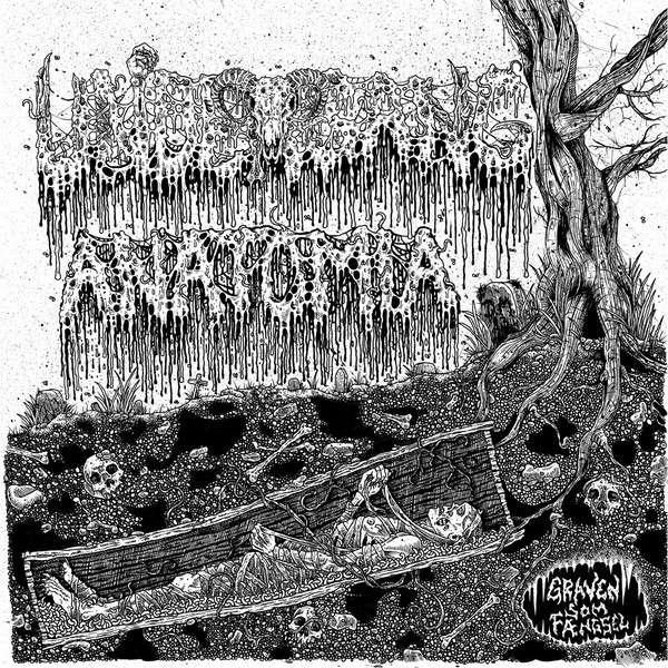 ANATOMIA / UNDERGANG Graven Som Fangsel. Green Vinyl