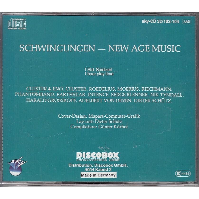 Schwingungen- new age music- harald grosskopf adelbert von deyen dieter  schütz nik tyndall serge ble by Cluster & Eno Riechmann Roedelius Moebius