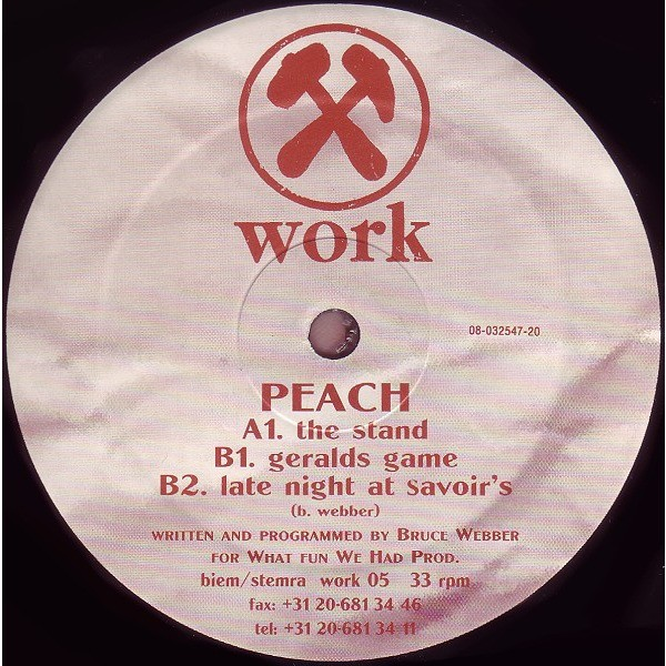 Peach The Stand / Geralds Game / Late Night At Savoir's