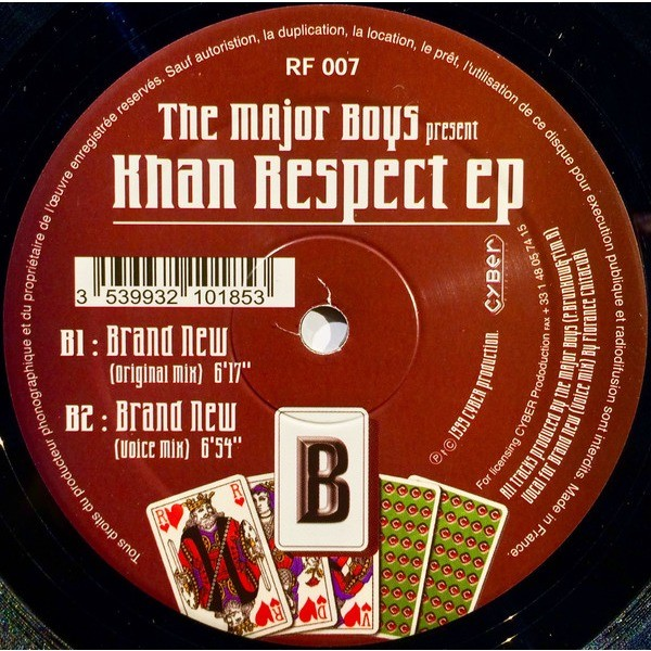 The Major Boys Khan Respect EP / Brand New X2