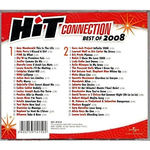 Kylie Minogue ; Lady Gaga ; Jason Mraz; Coldplay Hit Connection - Best Of 2008