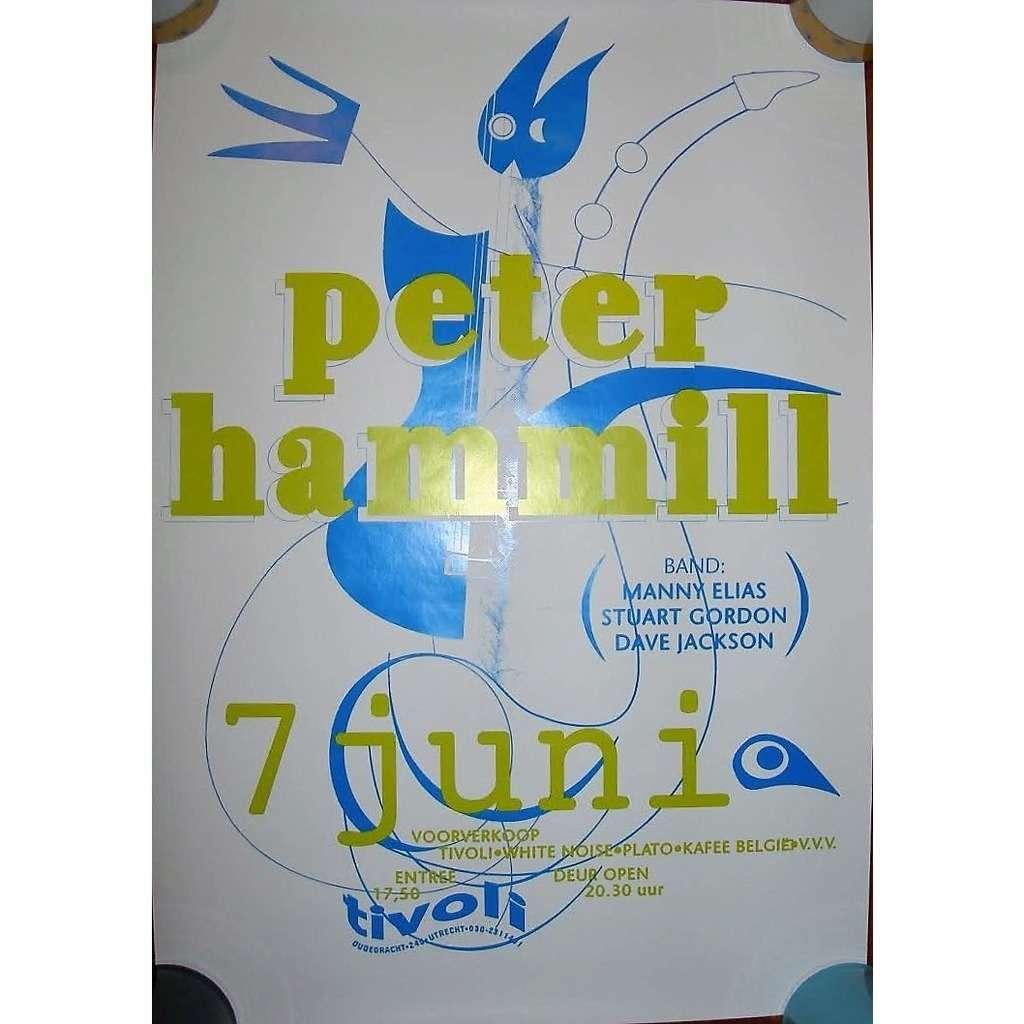 Van Der Graaf Generator / PETER HAMMILL Tivoli, in Utrecht 07.06.1996 (Holland 1996 original concert promo poster!!)