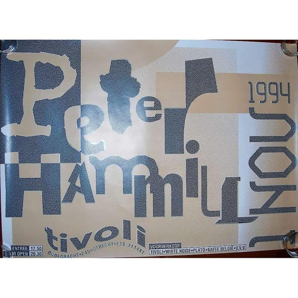 Van Der Graaf Generator / PETER HAMMILL Tivoli, in Utrecht 01.11.1994 (Holland 1994 original promo concert poster!!)