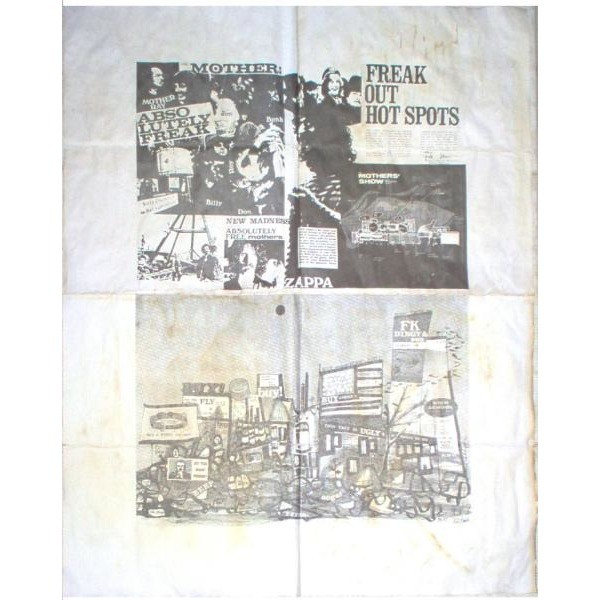 Freak Out Usa 1966 Original 13 Trk Mono Dj Yellow Lbl