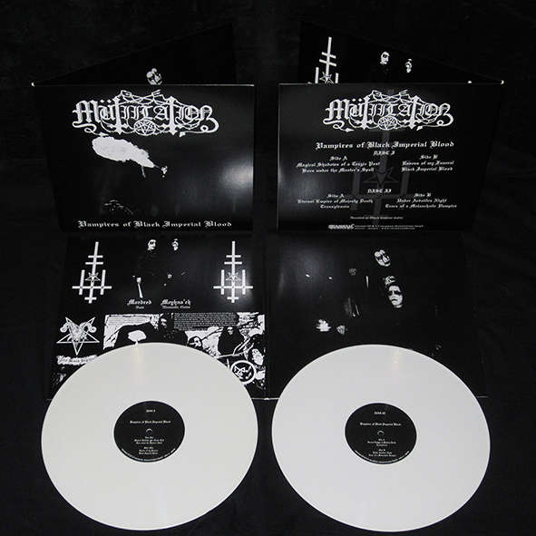 Drakkar Productions : Mutiilation Vampires Of Black Imperial Blood - LP x 2