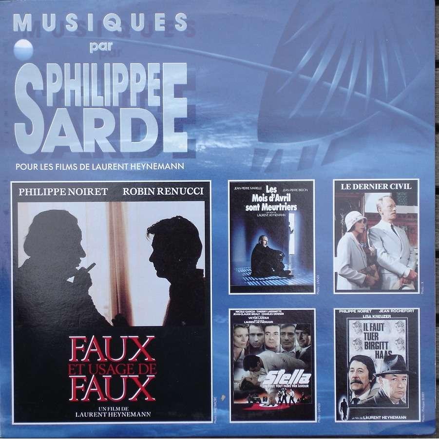 philippe sarde Musiques par Philippe Sarde pour les films de Laurent Heynemann