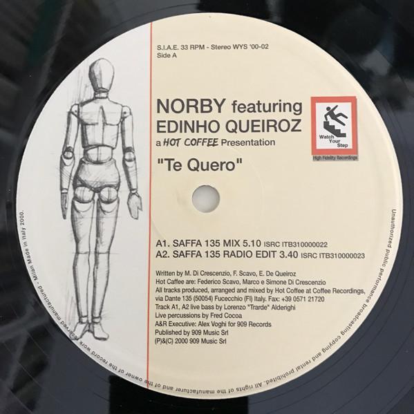 Norby feat. Edinho Queiroz Te Quero