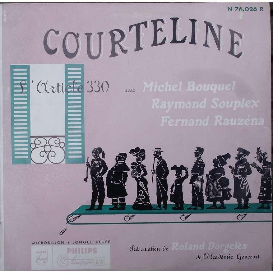 Courteline / Michel Bouquet / Raymond Souplex L'Article 330