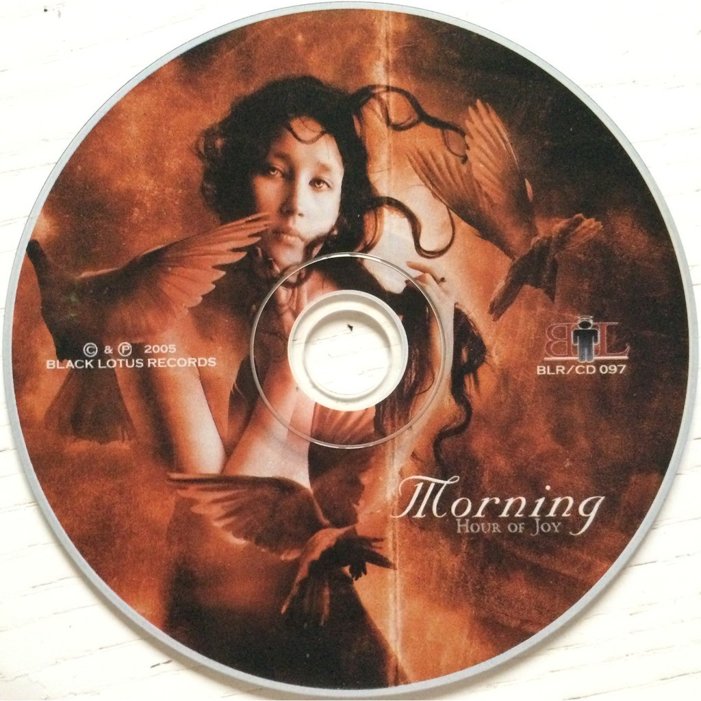 MORNING - HOUR OF JOY (GR. PRESSING 1 CD DIGIPACK + 12 PAGES BOOK)