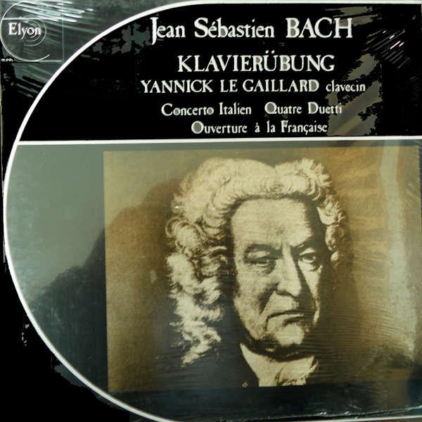 Yannick Le Gaillard, clavecin Jean Sébastien Bach