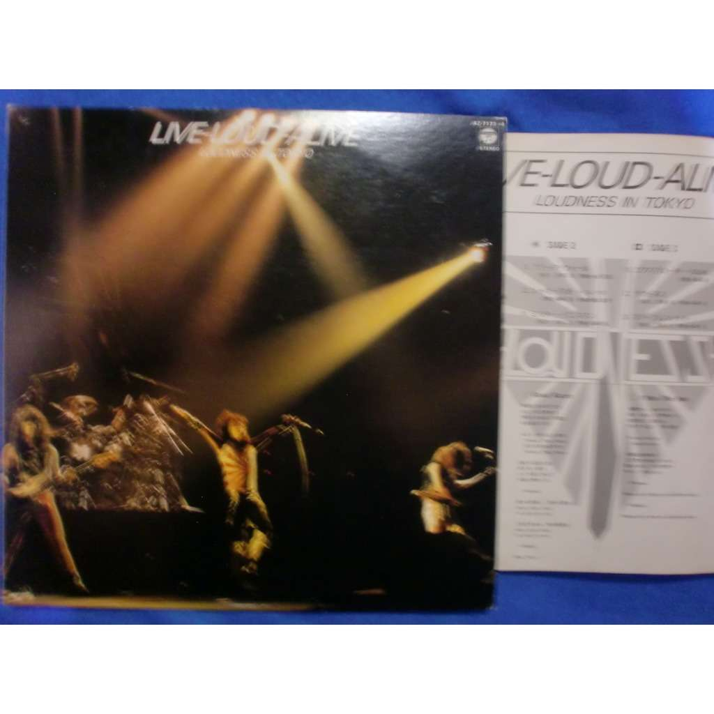 loudness live-loud-alive, loudness in tokyo