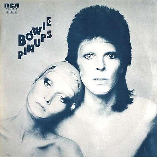 david bowie Pinups (Japan 1974 original w/label 12-trk LP promo unique promo ps!!)