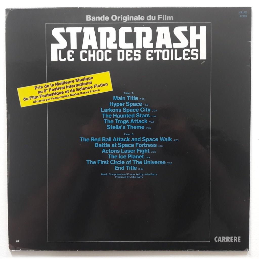john barry STARCRASH / LE CHOC DES ETOILES