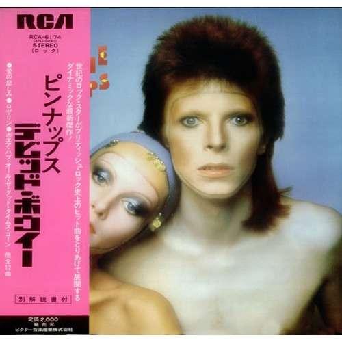 David Bowie Pinups (Japan 1974 original Ltd 12-trk w/label LP promo unique gf ps + obi & insert)