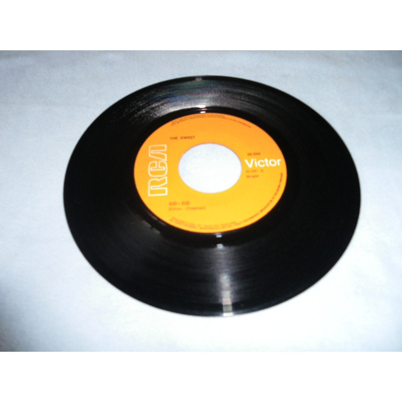 sweet Co-Co/ Done me wrong all right( rare ! Pressage et édition au Portugal)