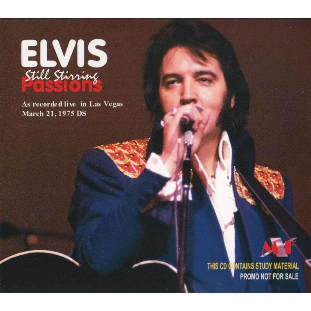 elvis presley cd digipack still stirring passion 21/3/75 dinner show