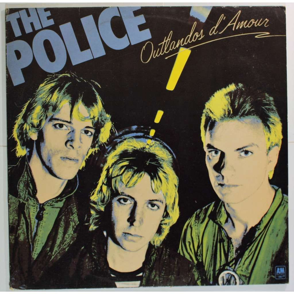 Outlandos D Amour By The Police Lp With Cruisexruffalo
