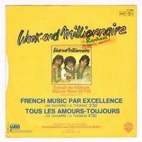 WEEK-END MILLIONNAIRE french music par excellence / tous les amours-toujours
