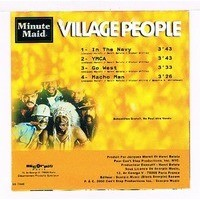 VILLAGE PEOPLE in the navy / ymca / go west / macho man (echantillon - hors commerce )