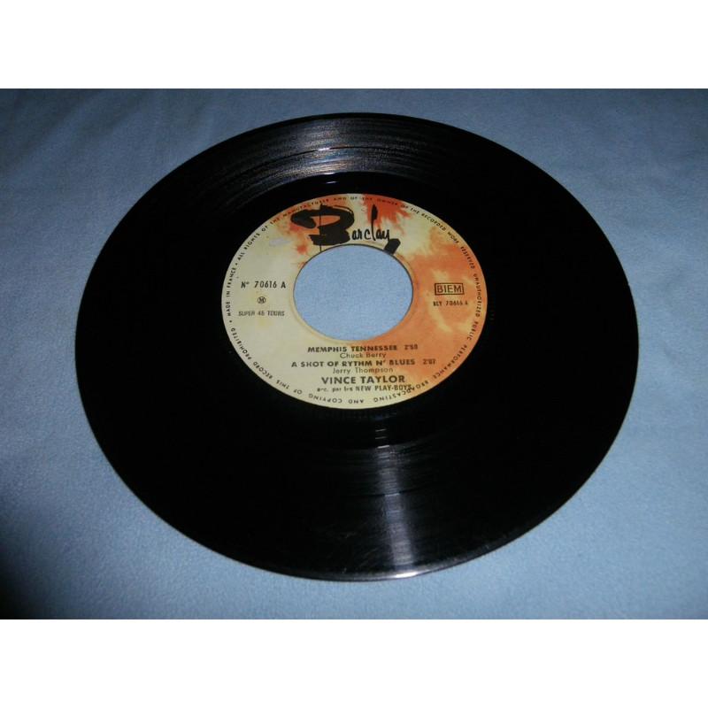 vince taylor Memphis tennessee - a shot of rythm n' blues - jour après jour - tu chang'ras d'avis