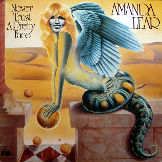 LEAR AMANDA NEVER TRUST A PRETTY FACE