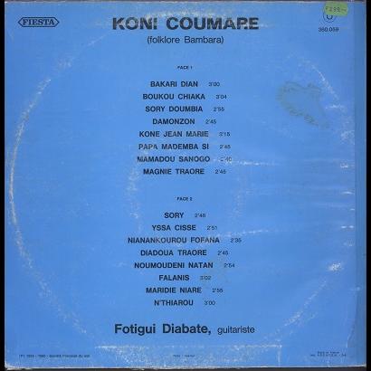 Koni Coumare / Fotigui Diabate Folklore Bambara